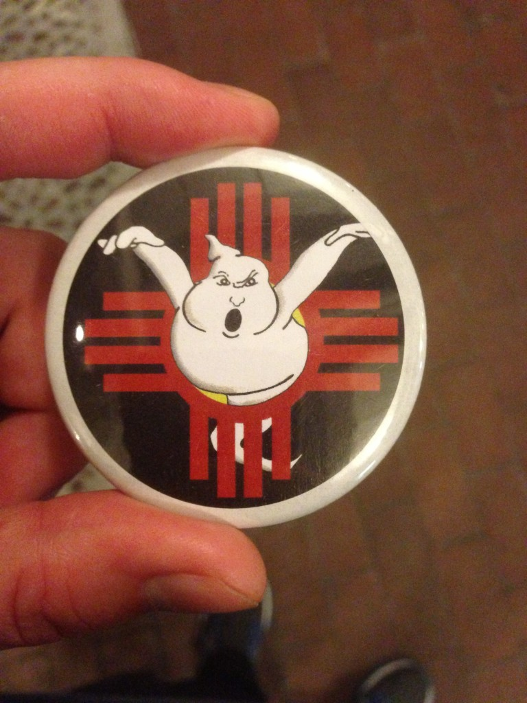 Ghost Tour Button