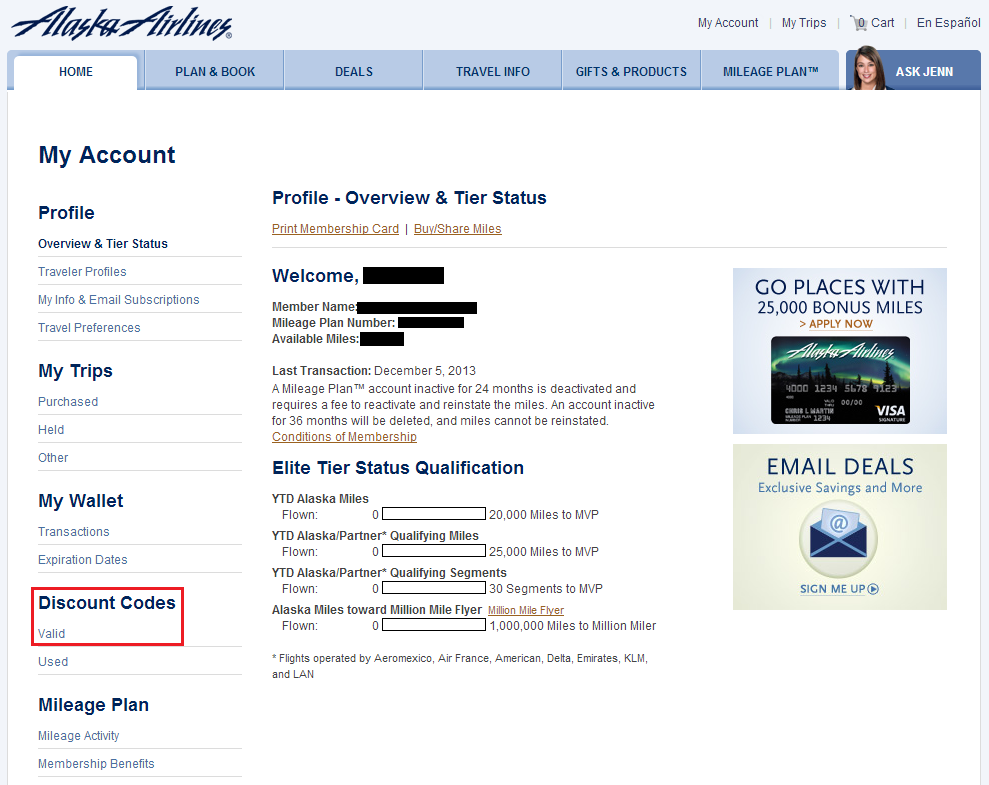 Coupons for alaska airlines discount codes