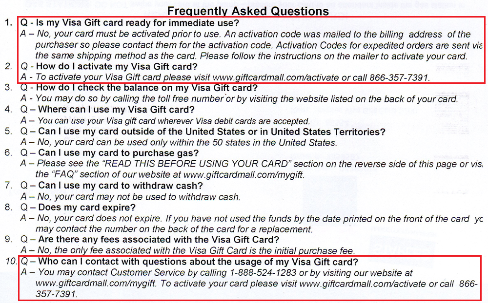 How to Activate $200 Visa Gift Cards from Staples.com *without ...