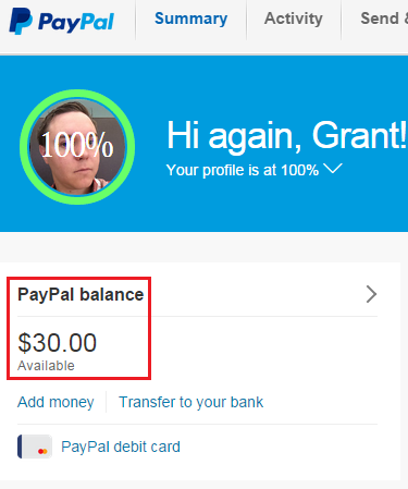 Chime Card Update 3% Fee being Charged to PayPal Business