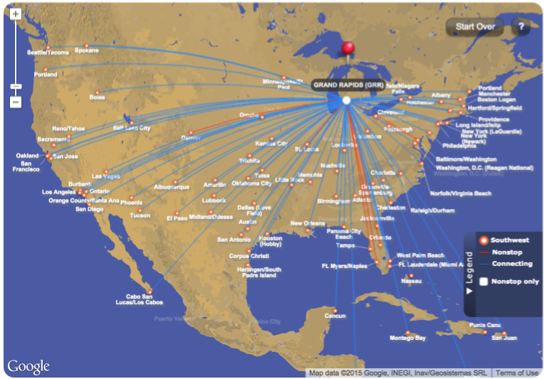 southwest airline map with Guest Post How To Make The Most Of A Weekend Trip on A Little More Of Everything Delta Economy  fort Reviewed besides Reagan National Airport Parking Guide furthermore Tour Boeing 737max likewise Default moreover Lga Map.