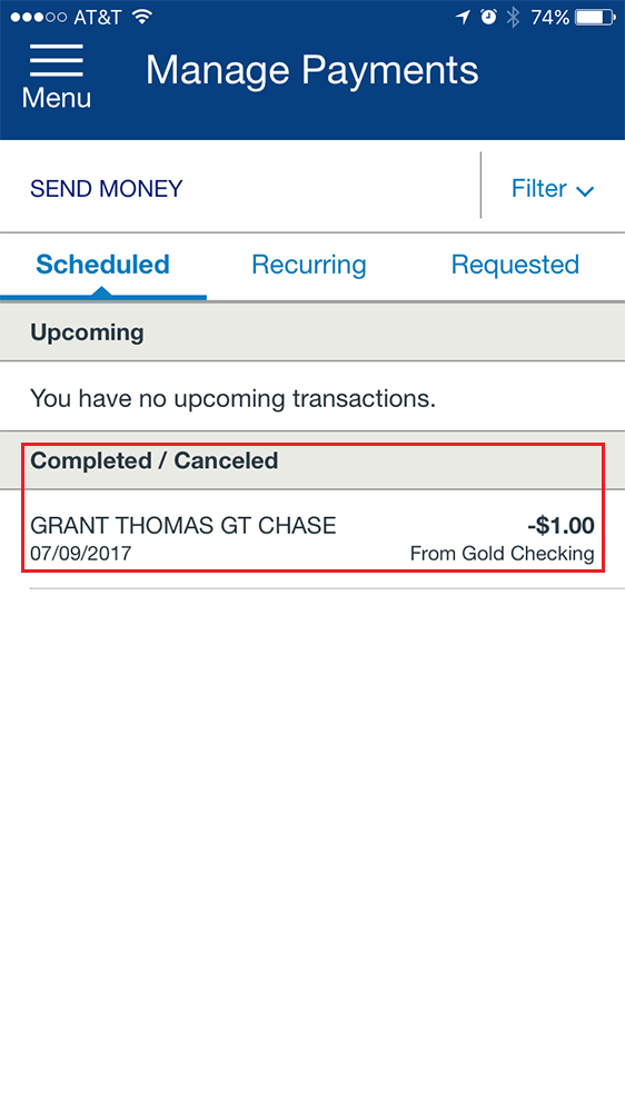 how to use chase pay online