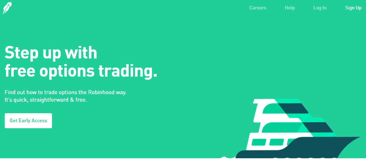 Trading options on robinhood