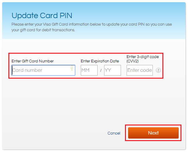 visa gift card expiration date how to guide activate a gift card and create a pin 8053