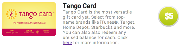 Tango Card | Travel with Grant
