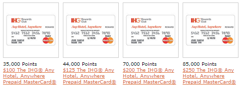 ihg gift card ihg rewards club unveils biggest ever redemption catalog 2500