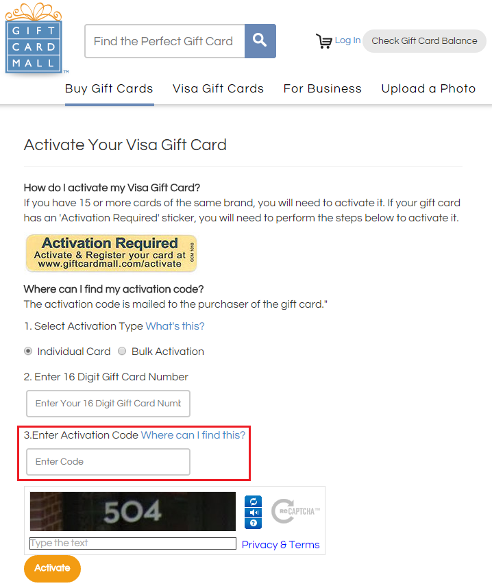Visa Gift Cards For Travel