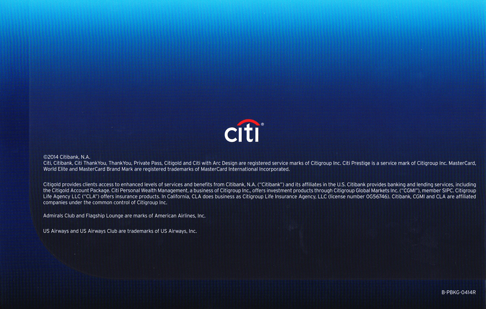 Citi Application Status >> My Citi Prestige In-Branch Application Experience with PDF ...