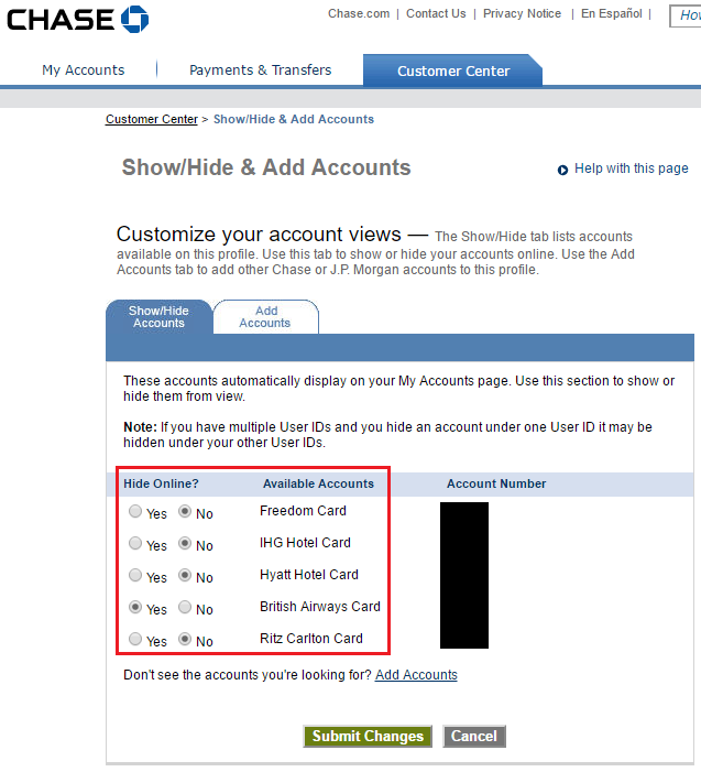 You Cannot Convert Chase British Airways Credit Card To