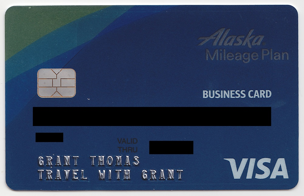 Alaska Credit Card Login >> Bank Of America Alaska Airlines Business Credit Card Front Travel