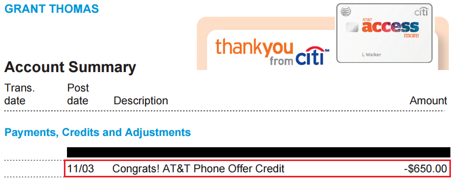 650-statement-credit-posted-citi-att-statement