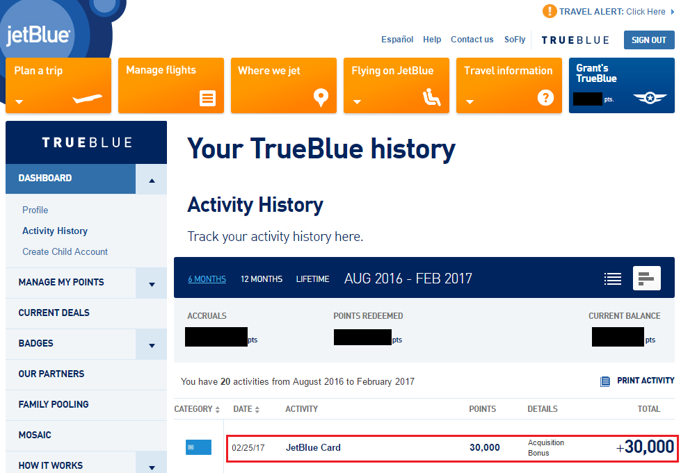 Barclaycard JetBlue Plus MasterCard 30,000 TrueBlue Points Sign Up ...