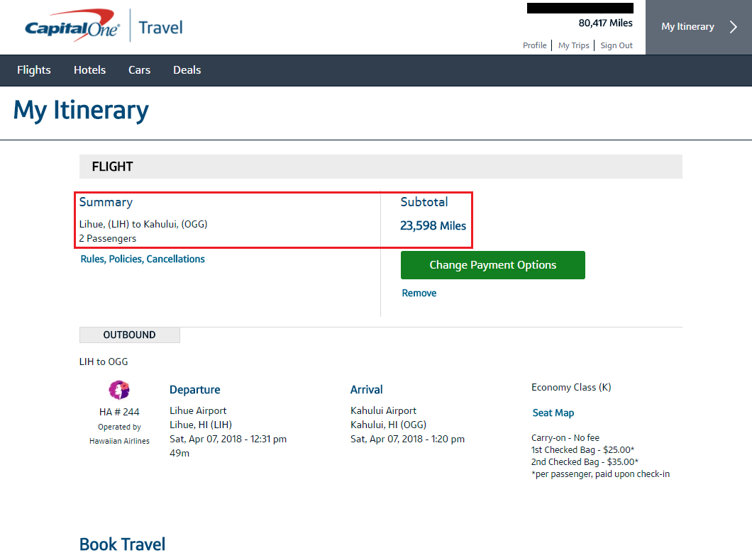 """How to Book Flights & Pay with Capital One Venture Rewards """"Miles"""""""