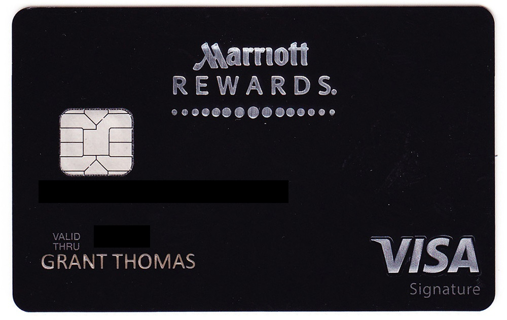 My new chase marriott rewards premier plus credit card arrived chase marriott rewards premier credit card reheart Gallery