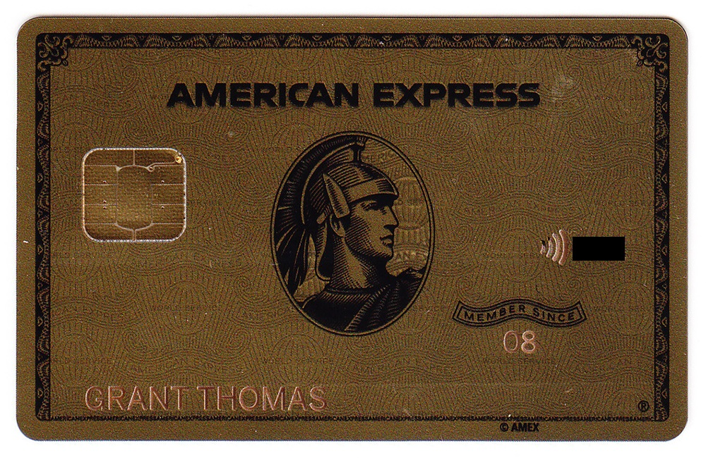 American Express Gold Card Front | Travel with Grant