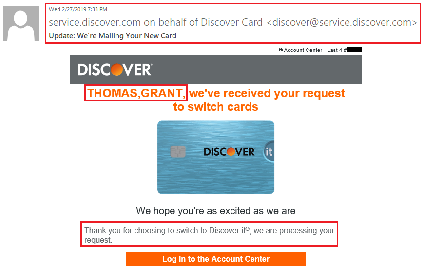 Discover Credit Card Sign In >> I Successfully Converted My Discover It Miles Into A Second Discover