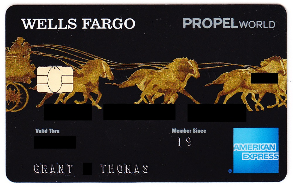 Unboxing Wells Fargo Propel World Credit Card: Card Art, Welcome