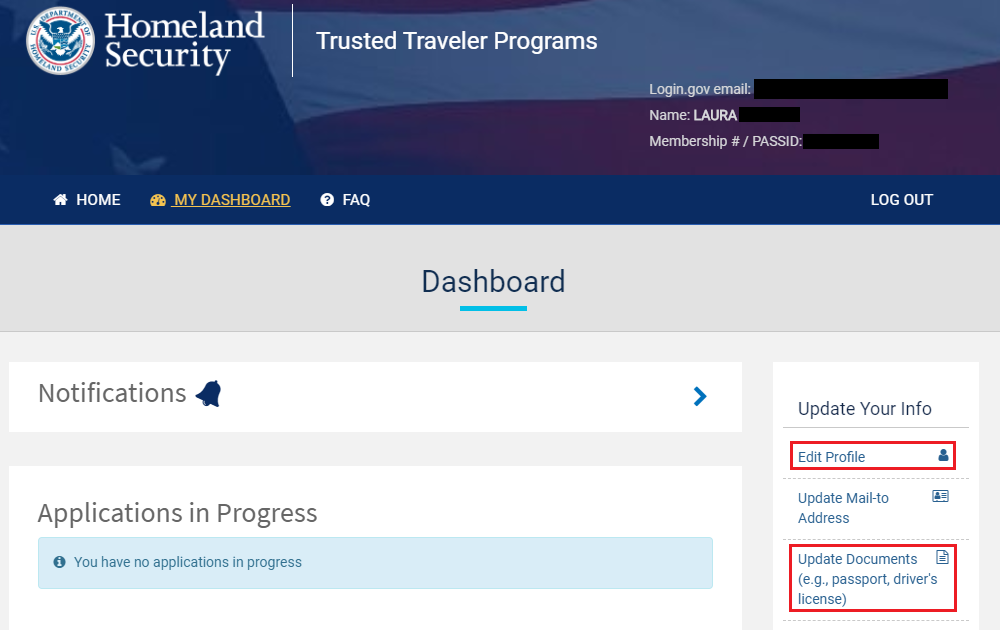 How to Update Passport & Driver's License Info with Global Entry