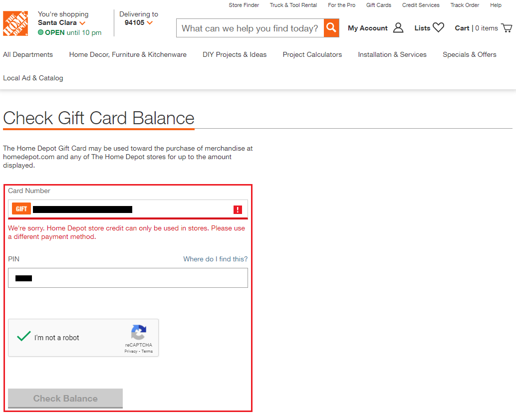How to Use Home Depot Store Credit for Online Purchases
